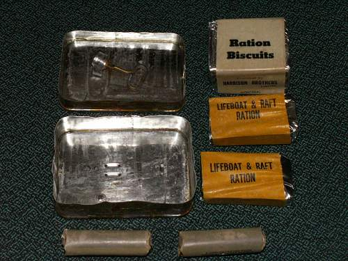 Canadian issue Emergency ration tin
