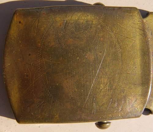 US WW2 beltbuckle