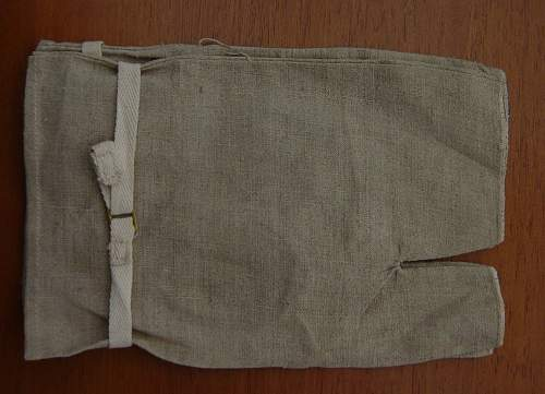 British Fingerless Mitts, 1944 dated. Unknown useage