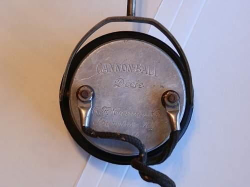 Bomber (B-17) radio / navigator headset???