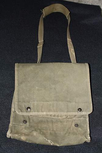 Need Help Finding Info on US Army Satchel