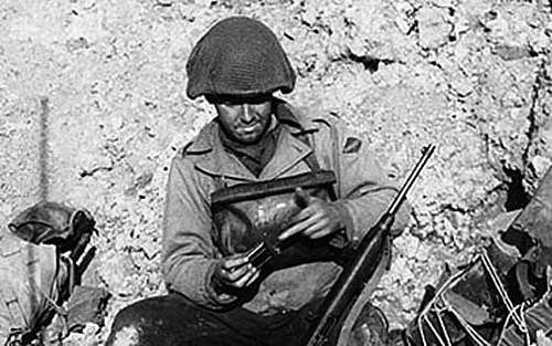 M7 Gasmask in use after D-day?