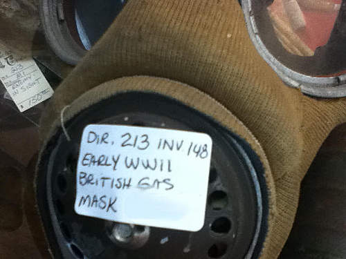 British WWII Gas Mask?