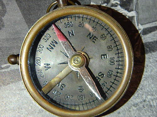 need help with a compass