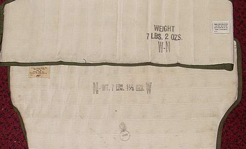 USAAF unissued flak vest.