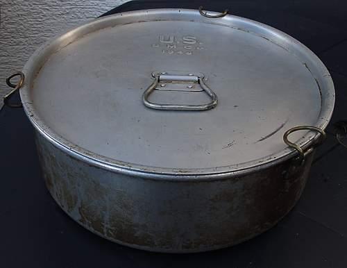 1944 Field mess pot?