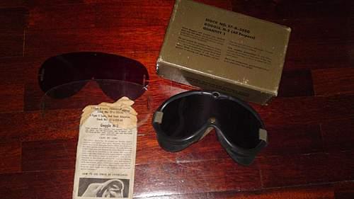 US M44 Goggles