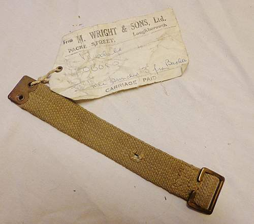 HELP!!!! Identifying WW2 British Vehicle Radio Webbing/Straps