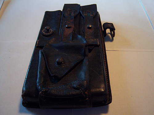MP 38-40 Ammo leather pouch