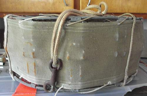 Some sort of military drop parachute container??