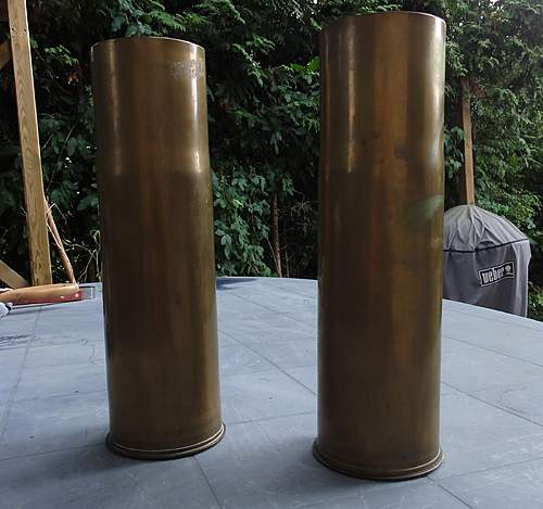 75 mm  M5A1 SHELL CASINGS 1940 & 41