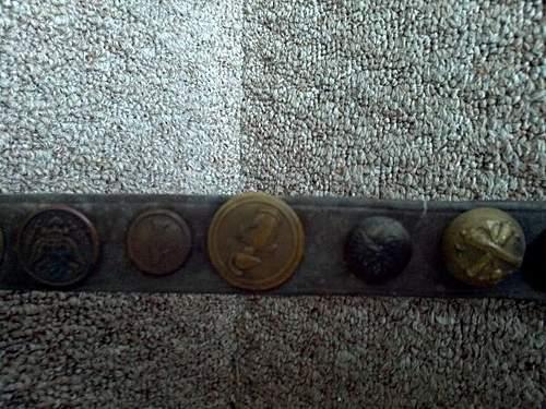 WW2 US Trench Art belt Value