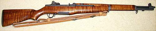 Click image for larger version.  Name:M1 Garand - Tiger Maple !.jpg Views:25 Size:37.5 KB ID:398903