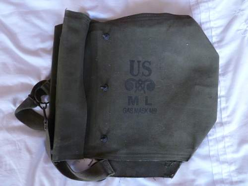 Us Gasmask bag