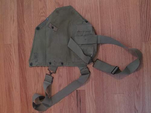 WW2 US Gas Mask Bag