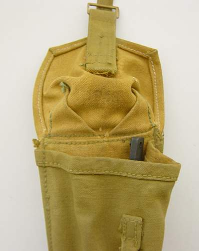 Vickers MG foresight deflection bar and  MKII pouch