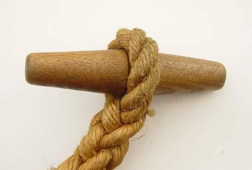 British toggle rope