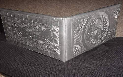 8Th air force cigarette case trench art