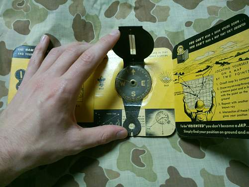 Lensatic Compass and guide