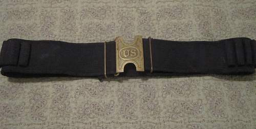 US web cartridge belt: Can anyone give me name and era?
