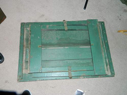 need help identifying a military folding table