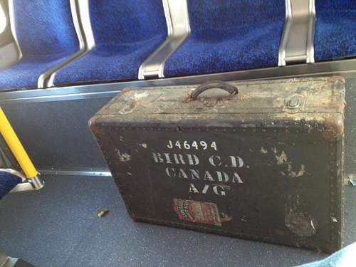 Canadian Soldier Suitcase?