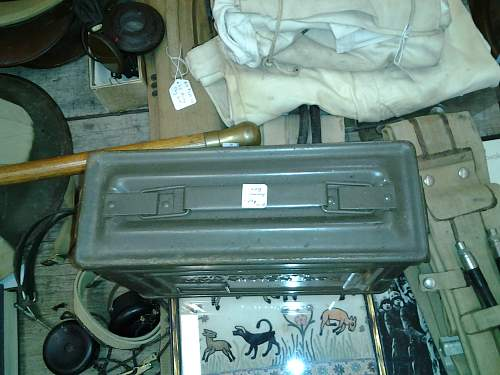 some questions about an ammo can