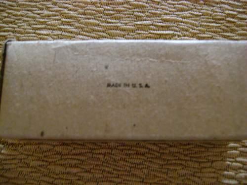 US bandage 1951