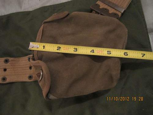 Any info on this belt and pouch? Usa?