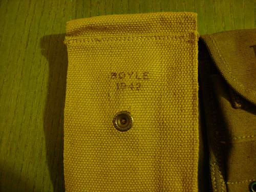 US ammo pouches