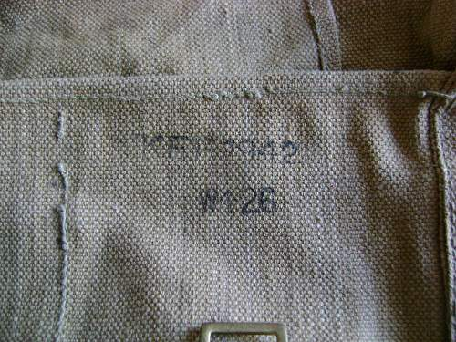 British 1937 pattern Haversack