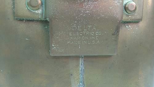 WWII U.S Ship Light