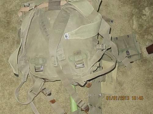 Korean war field gear