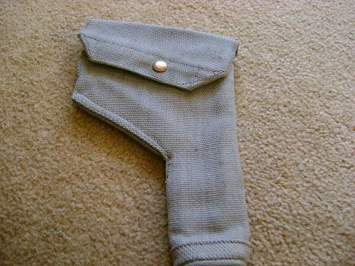 ww2 british RAF pistol holster