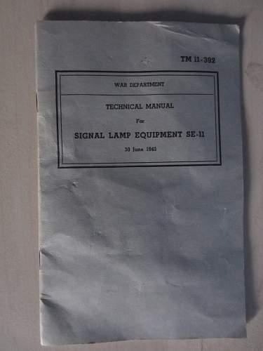US Signal Lamp M-227