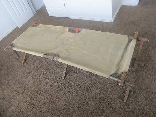 WWII U.S. Army Cot