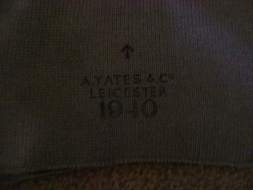 ww2 British cap comforter