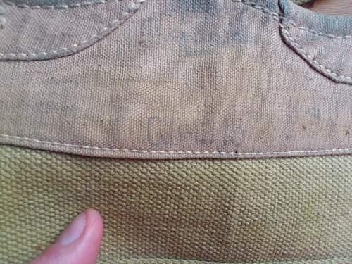 British 1937 Pattern Web Anklets