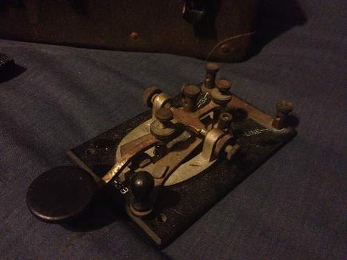 British S.O.E mark 3 type 2 telegraph