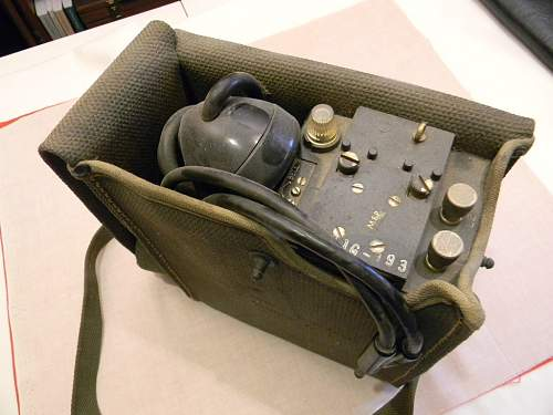 2 US Field Telephones WWII