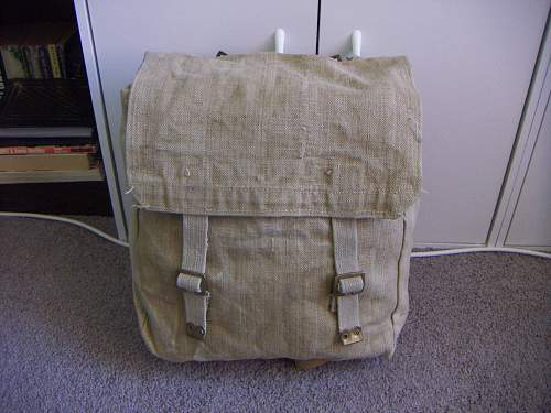 Canadian Backpack and Medic Bag
