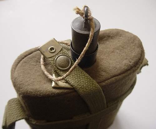 WW2 New Zealand issue waterbottle