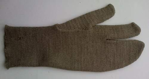 WW2 British trigger mittens