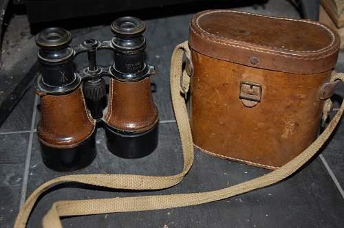 Can anybody identify these binoculars