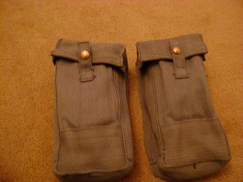 1942 RAF ammo pouches Arrive