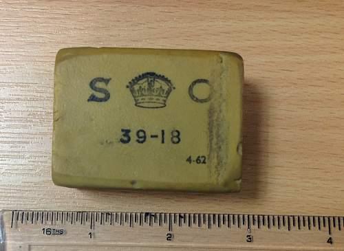 WW2 British Eraser
