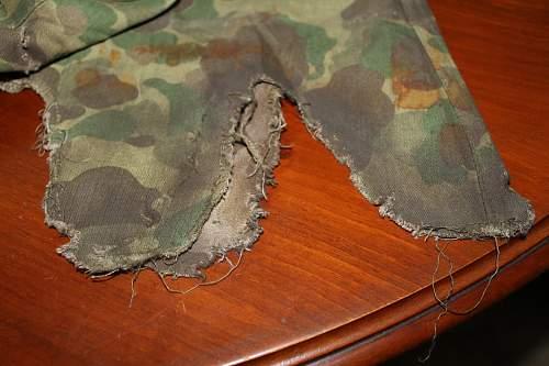USMC helme cover: original or movie prop?