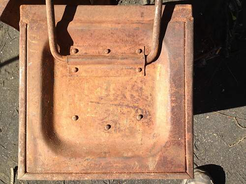 2pr HE metal container box B167A