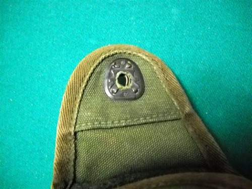 WWII US Belt and Canteen Cover