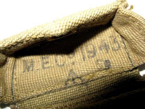 Pattern 37 pistol pouch